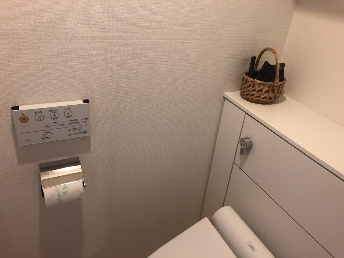トイレに置いた竹炭