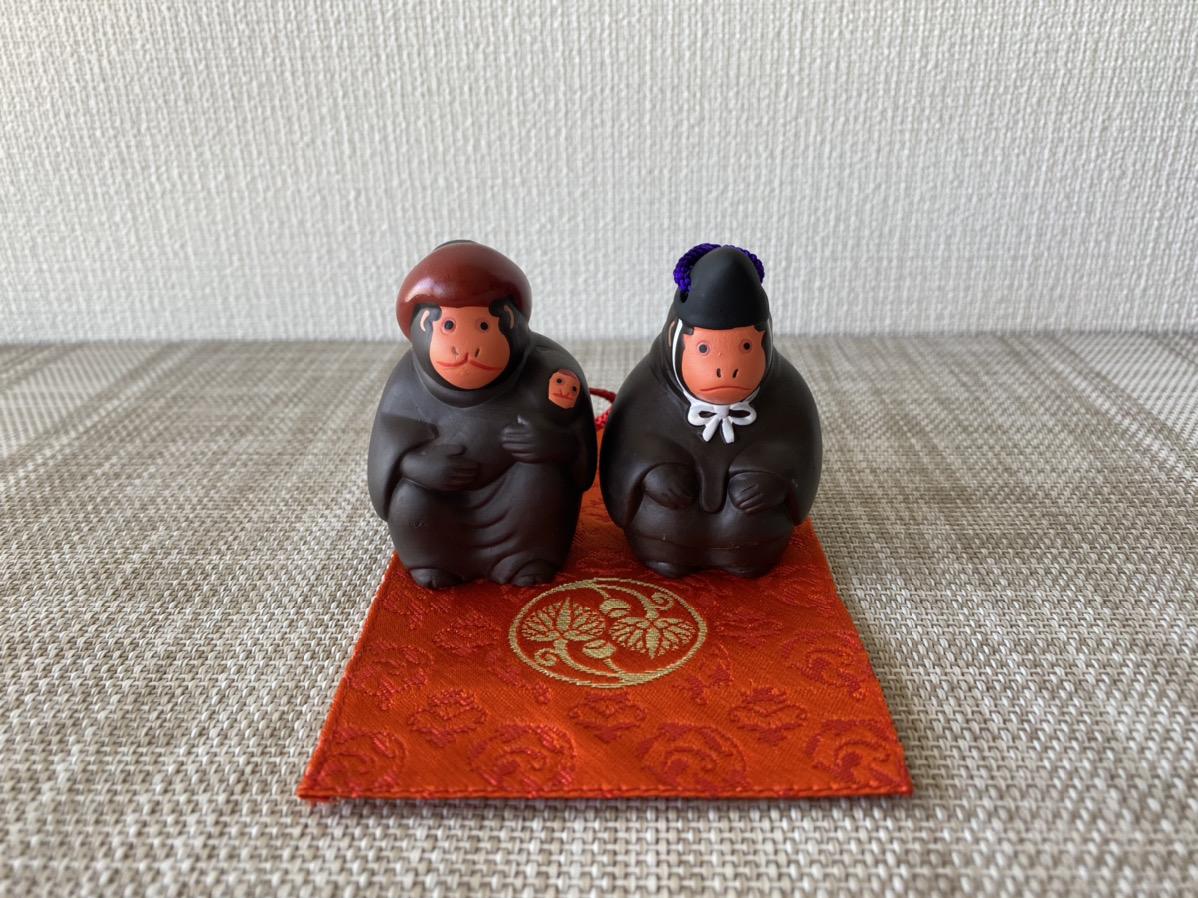 日枝神社のまさるの守土鈴
