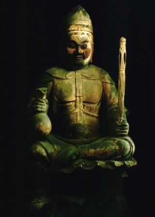 秘仏日本最古の大黒天(金運の神)
