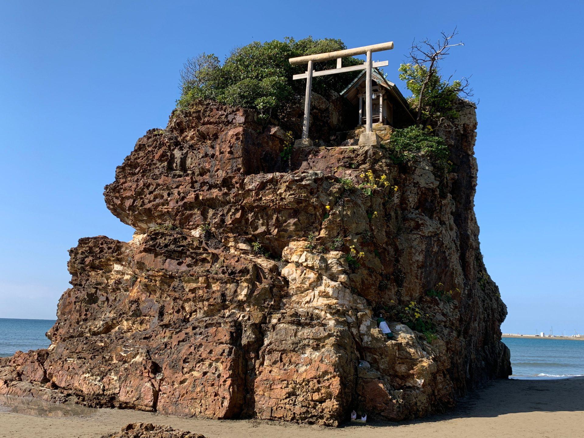 稲佐の浜の弁天社