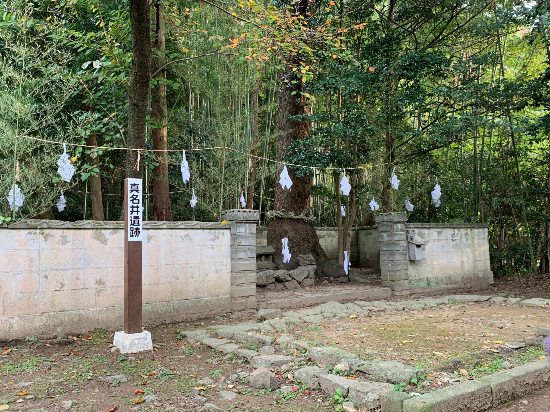 命主社裏にある真名井遺跡