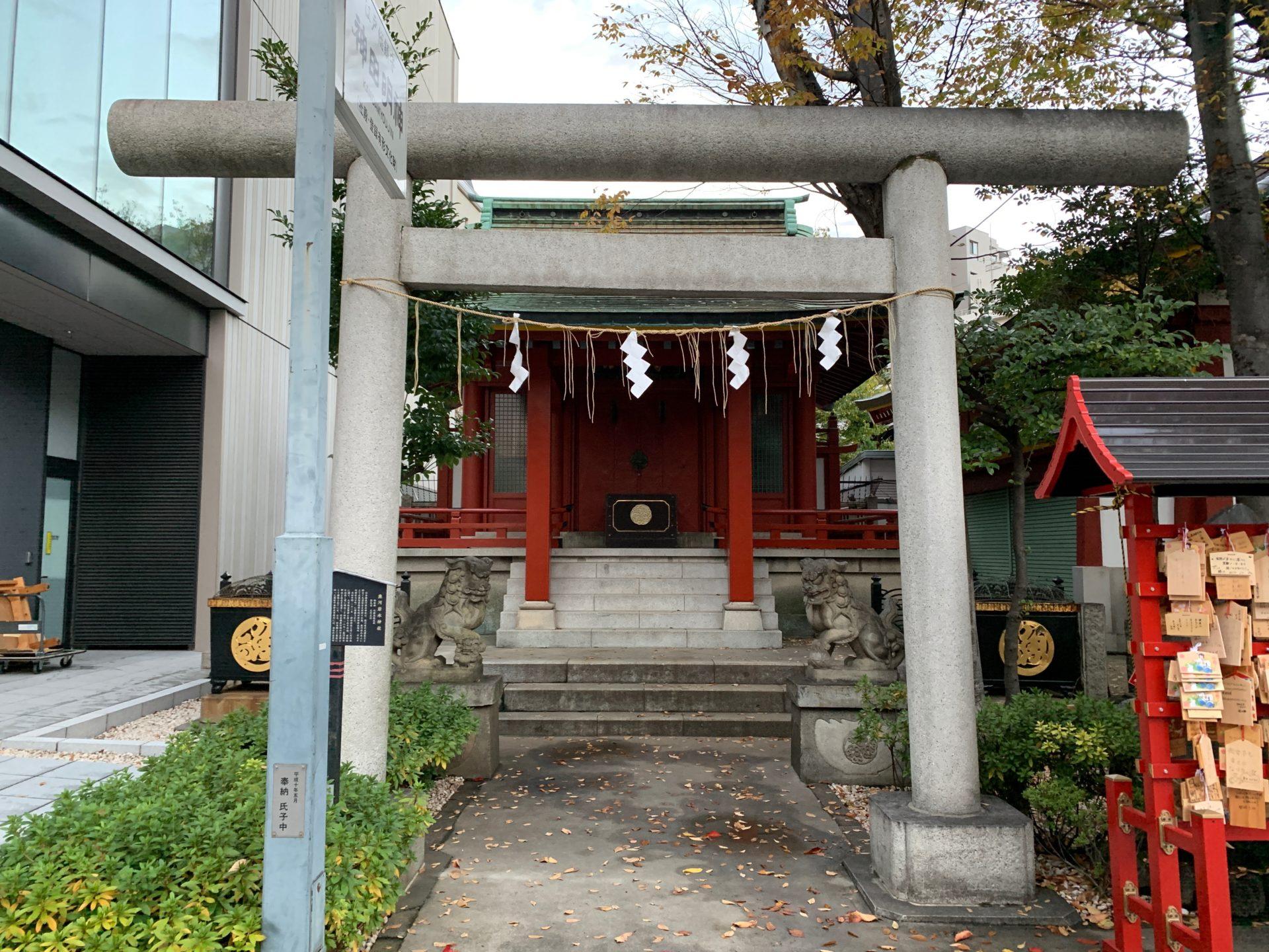 魚河岸水神社(水神社)