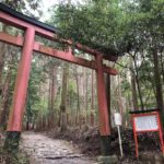 御蔭神社の鳥居